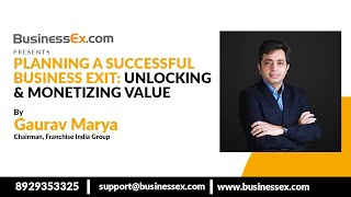 Episode 17- Planning a Successful Business Exit   BEx Exit With Gaurav Marya