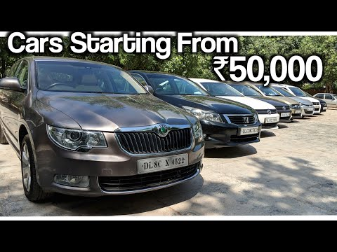 Cars Starting From ₹50,000 | Second Hand Cars For Sale | Skoda Superb | I20 And More | Rhombus Rohit