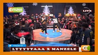 10 OVER 10   DJ Lyta X Manzele bring the house