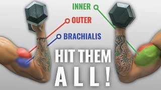 The Best Science-Based DUMBBELL Biceps Exercises For Size And Shape