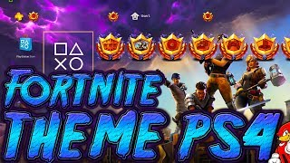 PS4 Fortnite Theme + FREE Download / Fortnite Theme FREE PS4 - By ReCoB