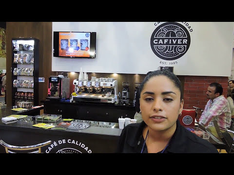 At Cafiver in 2015 Expo Café-Coffee Show in Mexico City