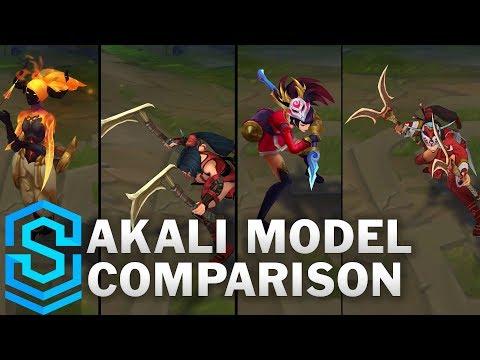 Akali Rework vs Pre-Rework Comparison Turnaround