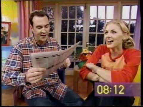 The Big Breakfast - 26th oct 2000 Paper Review - Johnny Vaughan Donna Air