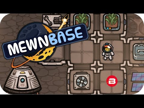 MewnBase - SPACE CAT SURVIVAL & BASE BUILDING FUN! - MewBase Gamplay #1