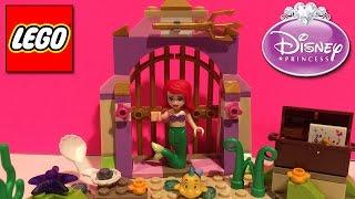 Lego Ariel Amazing Treasures 41050 Disney Princess: The Little Mermaid & Flounder Bath Building Toys