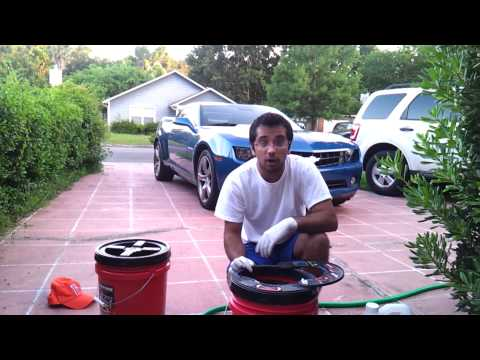 How To Clean Buffer Pads Using Grit Guard Pad Washer