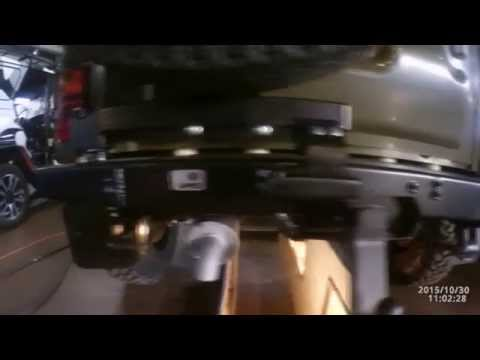 Cмотреть Силовой обвес на УАЗ Хантер (469) (Силовой бампер передний и задний, силовые пороги)