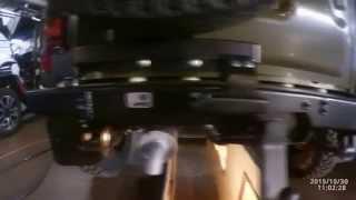 Силовой обвес на УАЗ Хантер (469) (Силовой бампер передний и задний, силовые пороги)