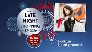 Uživajte u noćnom shoppingu uz hitove Mije Dimšić thumbnail