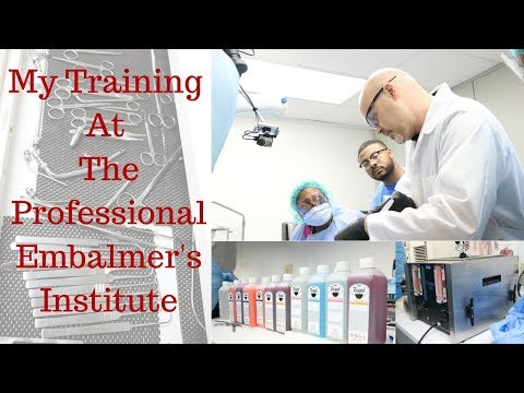 My experience at the Professional Embalmer's Institute training at Piedmont Technical College