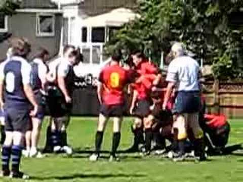 Tupper Rugby Scrum