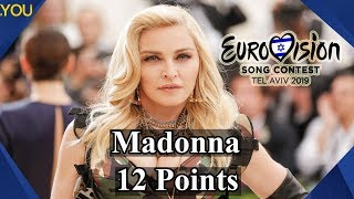 Is Madonna going to perform at Eurovision 2019?