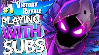Fortnite: Battle Royale Season 5 | LIVE Gameplay - PLAYING WITH SUBS LIVE!  (PC / PS4 PRO)