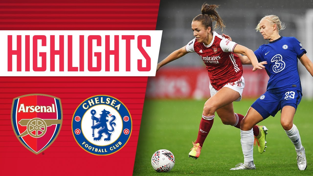 HIGHLIGHTS | Arsenal vs Chelsea (1-1) | Women's Super League