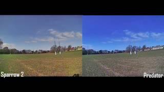 Micro Sparrow 2 vs Micro Predator | FPV Camera Testing