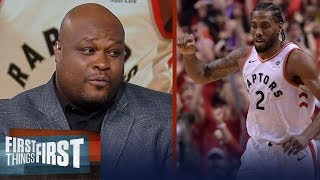 Antoine Walker agrees with Doc Rivers' comparison of Kawhi and Jordan | NBA | FIRST THINGS FIRST