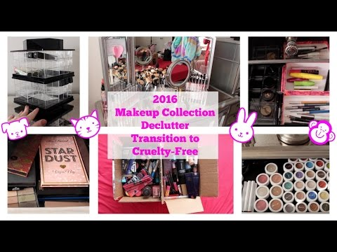 2016 Makeup Collection Declutter Part 1 | Cruelty-Free Transition