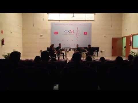 Nick Ayoub, Suite Jazz, 4° tempo - Concerto Conservatorio di Musica Superiore di Albacete (Spagna)