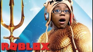 I AM AQUAMAN! |  AQUAMAN: HOME IS CALLING | ROBLOX GAMEPLAY