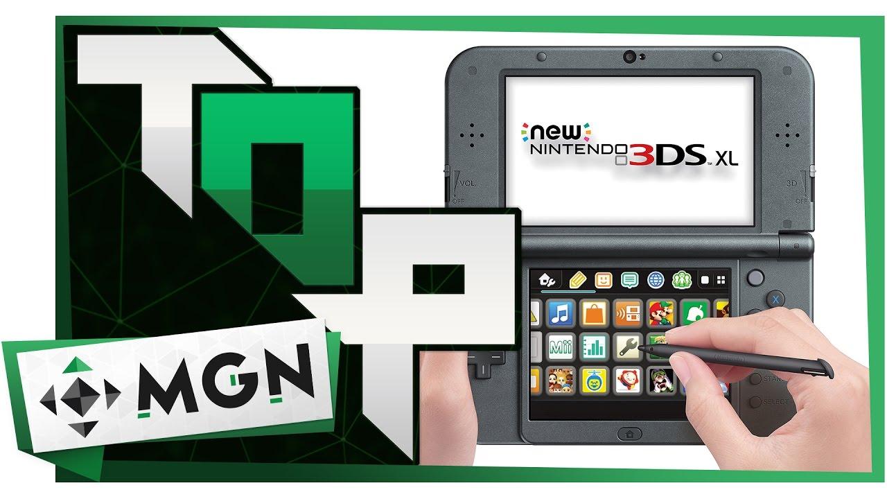 Top Juegos que debes tener en tu 3DS | MGN