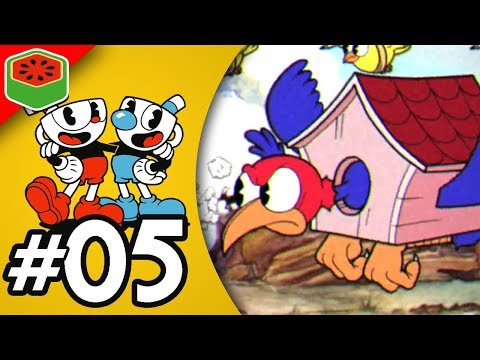 FLYING LEVELS ARE THE WORST! | Cuphead Expert Co-op Let's Play #5