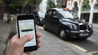 Video Mixed reactions after Uber stripped of London licence download MP3, 3GP, MP4, WEBM, AVI, FLV Oktober 2017