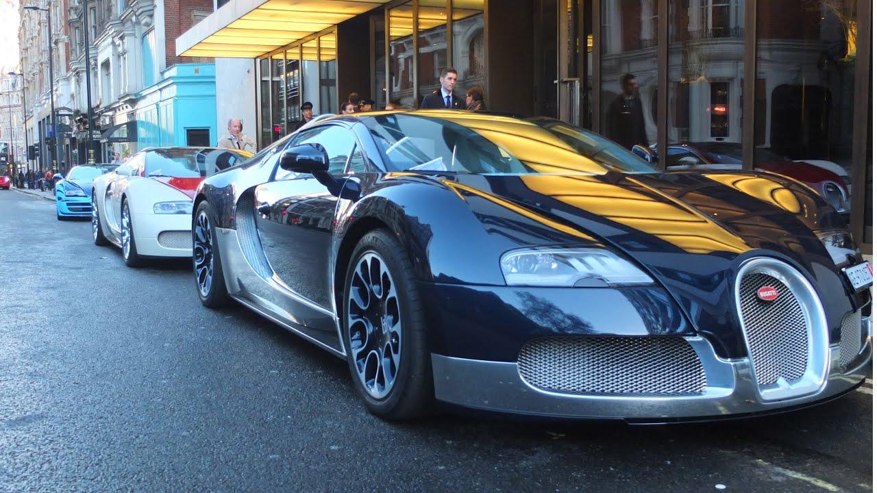 pov bugatti veyrons take-over london!! - youtube