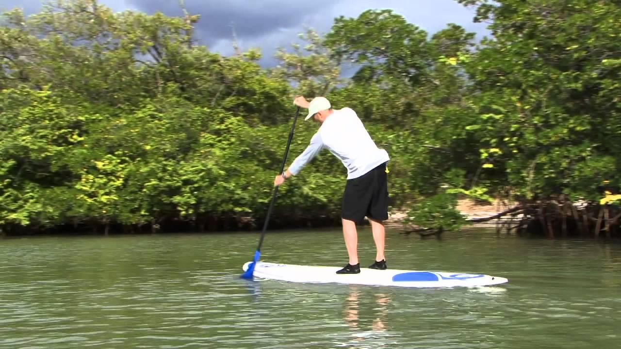 Stand up paddling unterbacher see