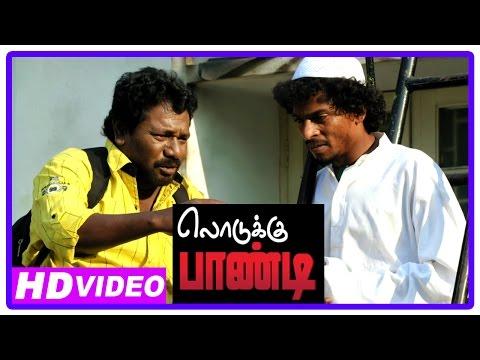 Lodukku Pandi Tamil Movie | Climax Scene | Karunas Escapes From MGR Studio | Neha Saxena