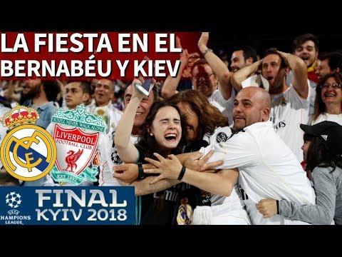 Real Madrid 3-1 Liverpool   La fiesta del Madrid desde Kiev y el Bernabéu en directo I Diario AS