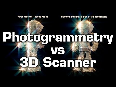 Photogrammetry vs 3D Scanner