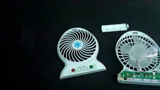 Cara Memperbaiki Kipas Elektrik Portable / How to repair a Battery or Electric Portable Fan