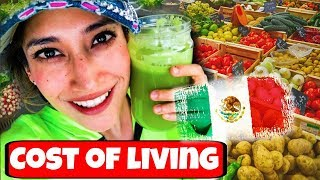 Cost of Living in MEXICO: FRUITS & VEGGIES $$$