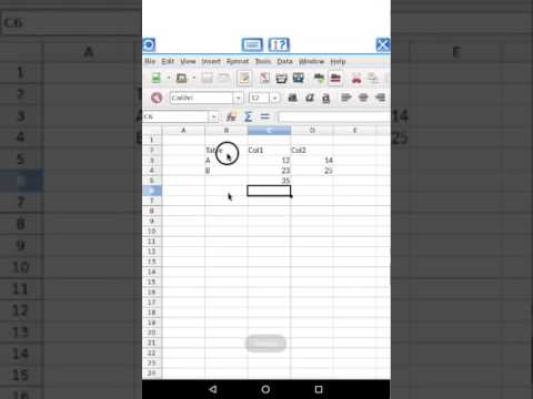 AndroCalc Spreadsheet editor For Pc | How To Use For Free – Windows 7/8/10 And Mac
