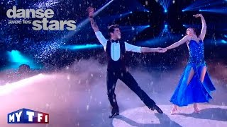 DALS S05 - Un american smooth avec Nathalie Péchalat et Christophe sur ''It's oh so quiet'' (Bjork)