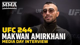 UFC 244: Makwan Amirkhani Sees U.S. Debut As 'Rocket' That Will Launch Him To 'Next Level'