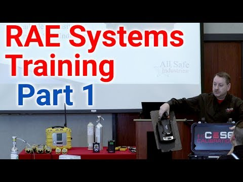 RAE Gas Meter Training Pt. 1 - Gas Meters 101, Acronyms, And Sensors