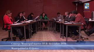 Concejo Municipal 10 de diciembre 2019 [parte 2]