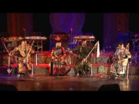 Завораживающе! - гр. Чиргилчин (The tuvan national orchestra)