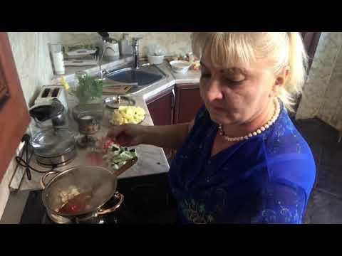 овощи тушенные с мясом аджапсандал