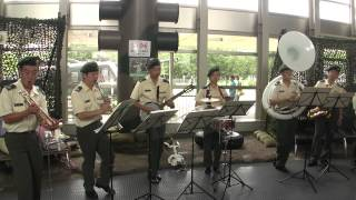 [jazz] Somebody Stole My Gal 吉本新喜劇のテーマ - JGSDF Central Band