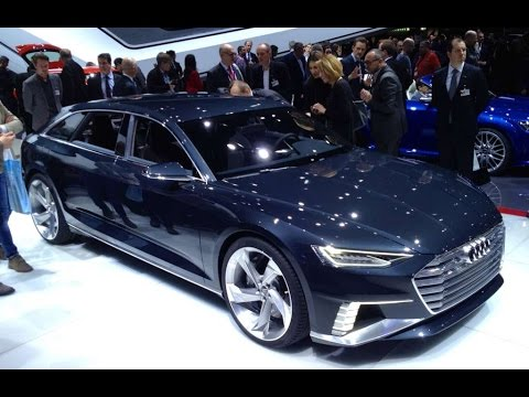 Audi launches the futuristic Audi Prologue Avant 2015
