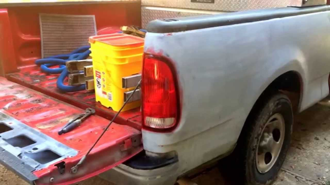 F150 Truck Bed Replacement >> Replace Pickup Truck Bed 1999 Ford F 150 Youtube