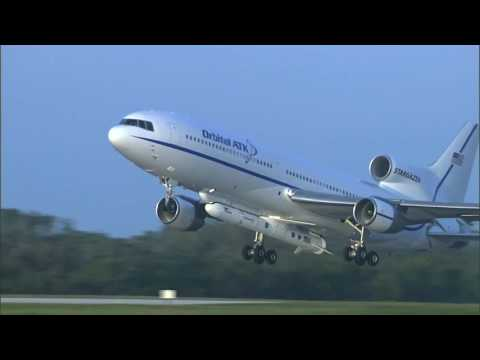 L-1011 Aircraft Take off with Pegasus XL and CYGNSS Spacecraft