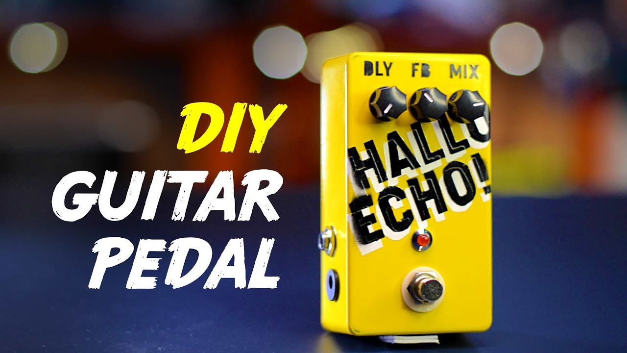DIY Delay Pedal Kit with a Twist - Build & Sound Demo (english)