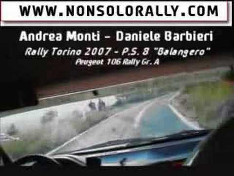 CRASH RALLY TORINO MONTI-BARBIERI