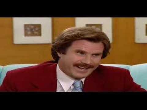 ron burgundy and tom izzo doovi