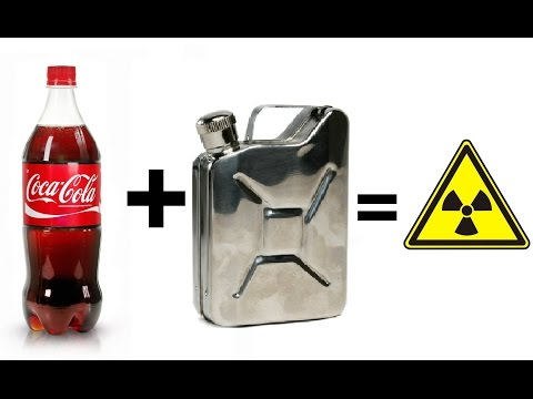 What Will Happen If You Mix Coke and GASOLINE