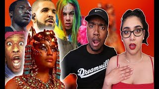 Nicki Minaj - Barbie Dreams (Audio Lyrics) Queen Album | REACTION 🔥| DISS 6IX9INE DRAKE & MORE 😳😱